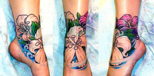 На икрах тату на лодыжках татуировки